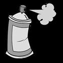 Afbeelding van Nitrocelluloselak Blank Hoogglans - 400ml Spuitbus
