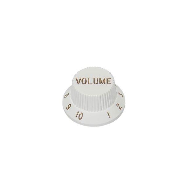 Afbeelding van Strat® knop wit 'Volume'