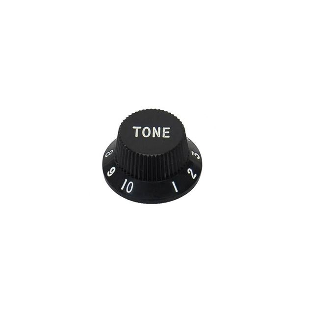 Picture of Strat® knop zwart 'Tone'