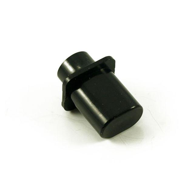Afbeelding van Telecaster Schakelaarknop Top Hat - Inch - Zwart