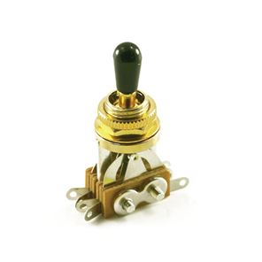Picture of LP® TOGGLE SWITCH Gold (3 PICKUP) BLACK TIP