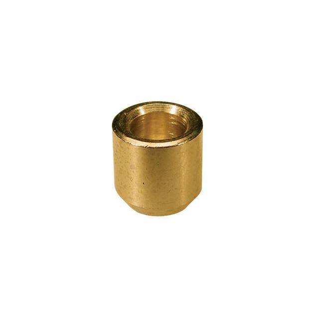 Afbeelding van String ferrules goud vintage, set van 6