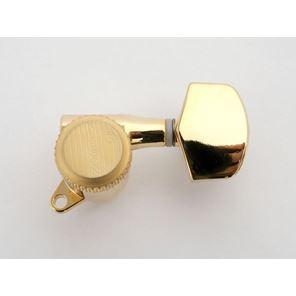 Afbeelding van Kluson backlock gold large button 3x3