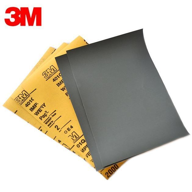 Picture of 3M Coated Abrasive Sheets Wet or Dry - P800