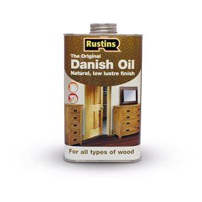 Picture of Rustins Danish Oil - 500ml