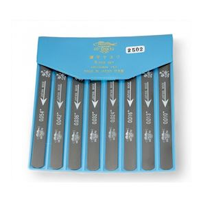 Picture of UO-Chikyu - Hiroshima Nut File Set - 8 Piece Set.