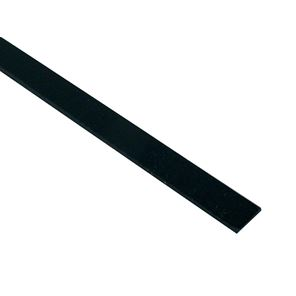 Picture of Binding ABS Plastic - Black - 0,5 x 6,35 x 1650mm