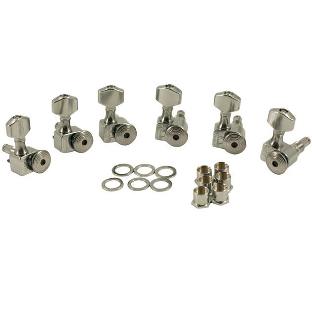 Picture of Sperzel Locking Tuners Chrome 6x1 staggered