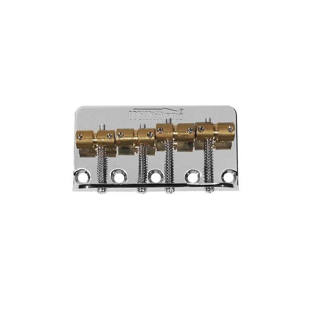 Picture of Wilkinson Bass Bridge - Chrome - Brass Saddles