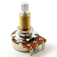 Afbeelding van Bourns Pro Audio Potmeter 500kOhm Logaritmisch  - Long Shaft