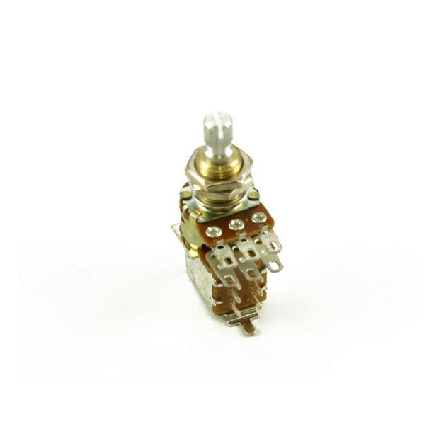 Afbeelding van Bourns Pro Audio Potmeter 500kOhm Lineair - Push-Pull