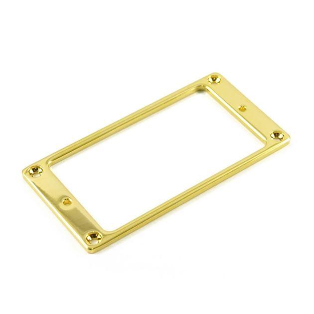 Afbeelding van Gold humbucker ring metal