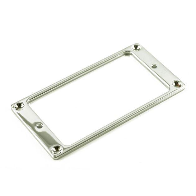Afbeelding van Chrome humbucker ring metal