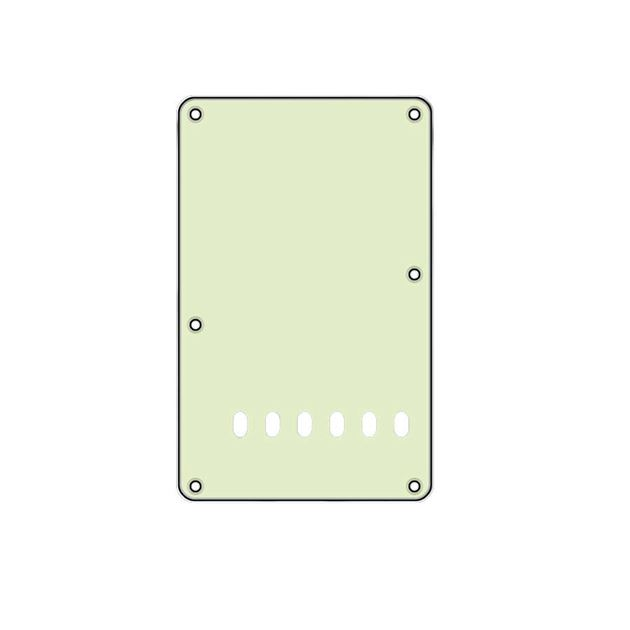 Picture of Tremolo Backplate - Mint - Black - Mint