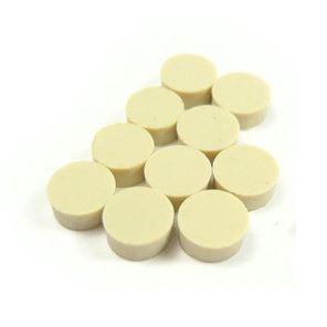 Afbeelding van Dot inlay 'Clay' set of 12, 6mm dia