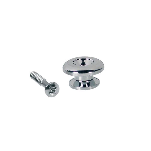 Afbeelding van Strap pin Gotoh style 17mm chrome inc schroef
