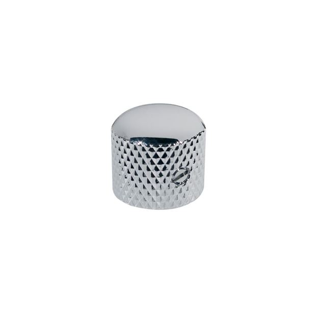 Picture of Dome knop chrome with screw