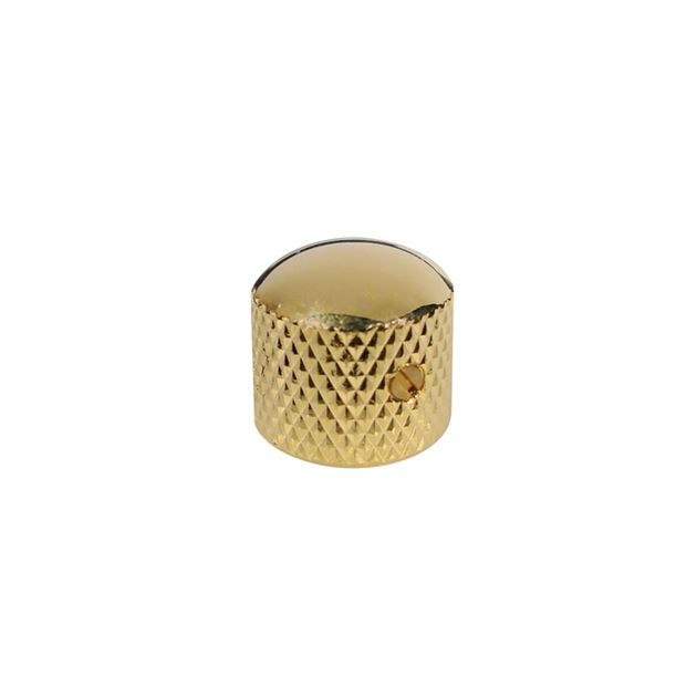 Picture of Dome knop gold with screw