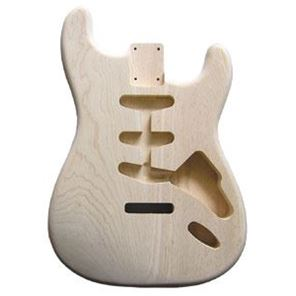 Picture of Stratocaster Body Swamp Ash