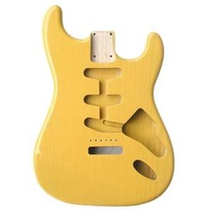 Picture of Stratocaster Body ButterScotch SwampAsh