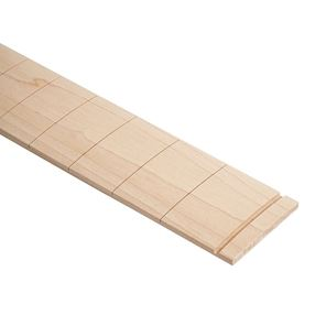 Picture of Pre-slotted Maple Fretboard - 25.5 inch scale - 9.5 inch radius