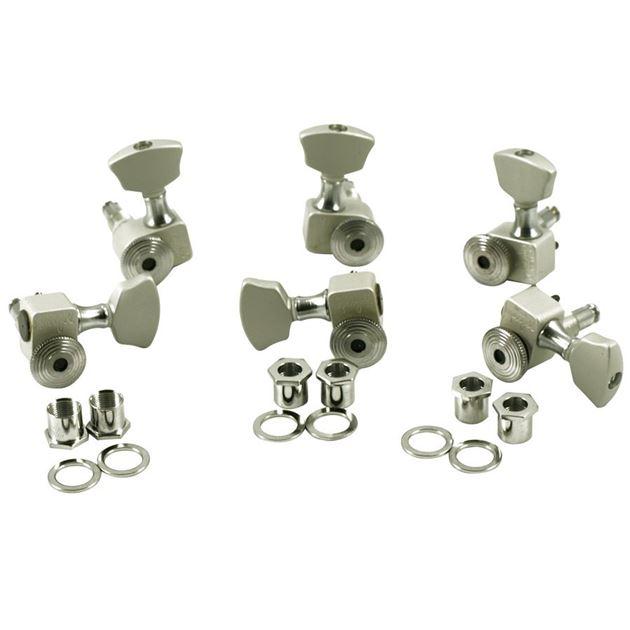 Picture of Sperzel Locking Tuners - Satin Chrome - 3x3