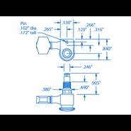 Afbeelding van Sperzel Locking Tuners - Zwart - 6x1
