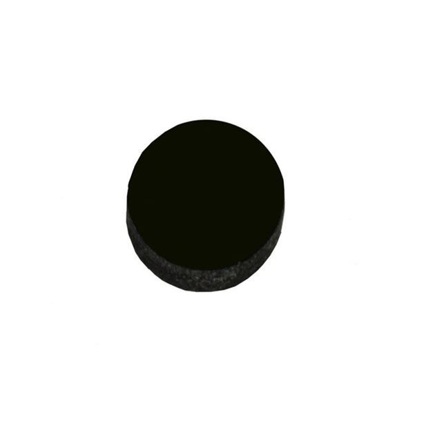 Afbeelding van Dot inlay acrylic 5mm zwart
