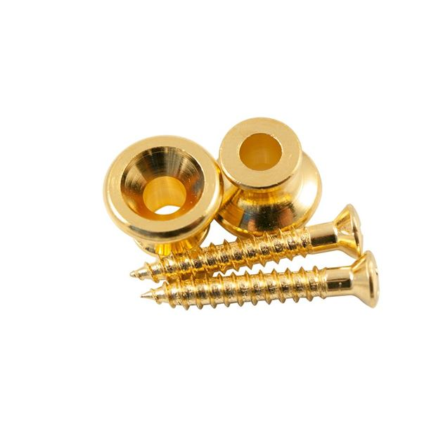 Picture of Gibson Strap Button by Kluson USA - Gold - Set of 2