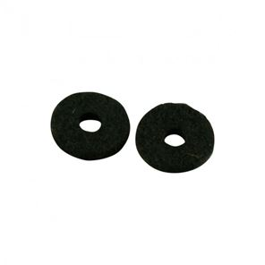 Picture of Felt washers for Strappins - Black - Set of 2