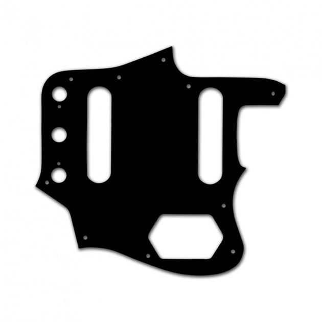 Picture of Pickguard for Jaguar Black - White - Black