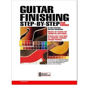 Afbeelding van Guitar Finishing Step by Step - Dan Erlewine & Don MacRostie
