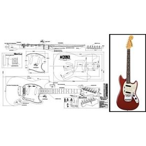 Picture of Fender Mustang Blueprint