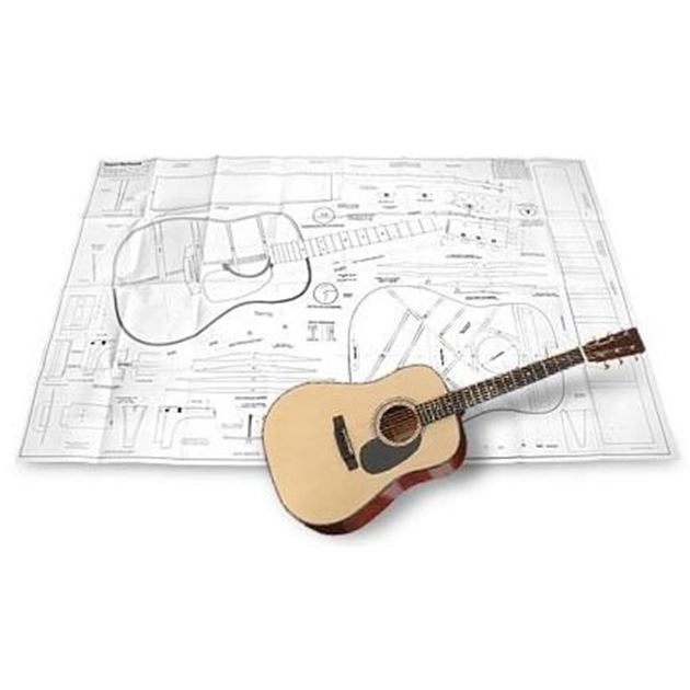 Picture of Martin Dreadnought Blueprint