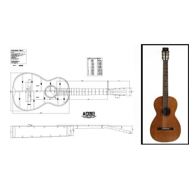Picture of Martin Parlor Blueprint