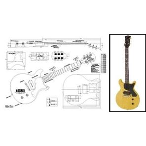 Picture of Gibson Les Paul Junior Double Cut Blueprint