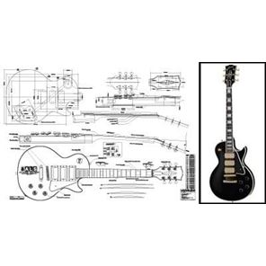 Picture of Gibson Les Paul Black Beauty Bouwtekening