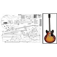 Picture of Gibson ES-335 Bouwtekening