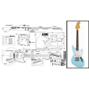 Picture of Fender Jagstang Blueprint