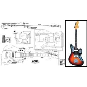 Picture of Fender Jaguar Blueprint