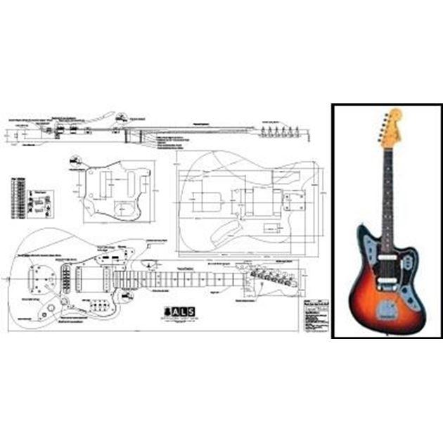 Picture of Fender Jaguar Blueprint
