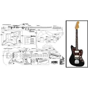 Picture of Fender Jazzmaster Blueprint