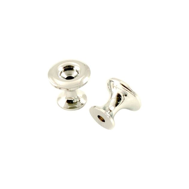 Picture of Kluson California Custom Strap Buttons - Chrome - Set of 2