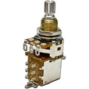 Afbeelding van Bourns Pro Audio Potmeter 500kOhm Logaritmisch - Push-Pull