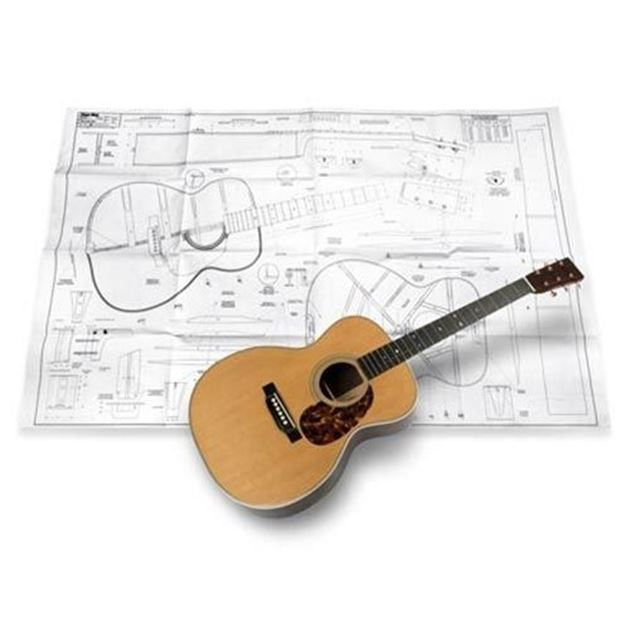 Picture of Martin OM Blueprint