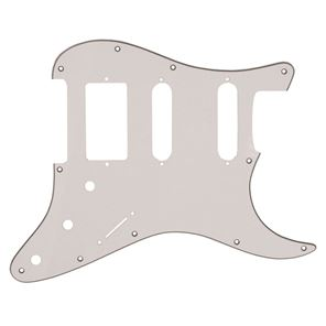 Picture of Stratocaster Pickguard HSS - White - Black - White