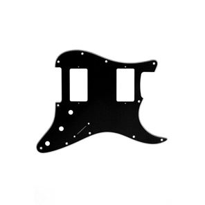 Picture of Stratocaster Pickguard HH - Black - White - Black