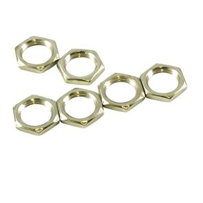 Picture of Hex Nuts for CTS Pots - Nickel (bag of 6)