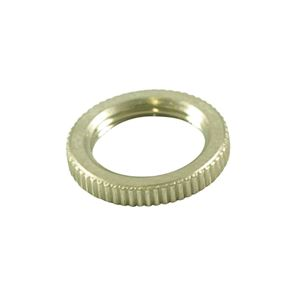 Picture of Switchcraft Knurled Nut For Toggle Switches - Nickel