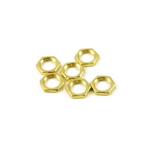 Picture of CTS Potmeter Nut - Bag of 6 - Gold